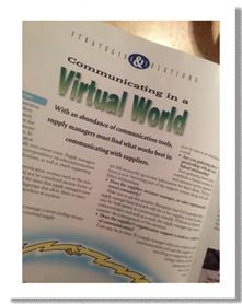 Communication in a Virtual World