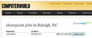 sharepoint jobs